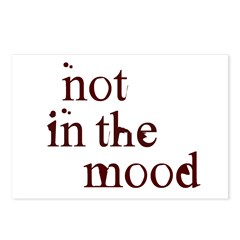 Not in the Mood Postcards (Package of 8)
