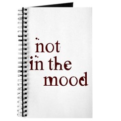 Not in the Mood Journal