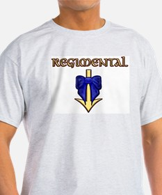 Regimental Ash Grey T-Shirt