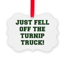 TURNIP TRUCK Ornament