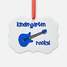 kindergartenrocks_blue Ornament