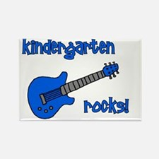 kindergartenrocks_blue Rectangle Magnet