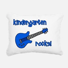 kindergartenrocks_blue Rectangular Canvas Pillow