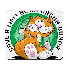 Organ-Donor-Cat Mousepad