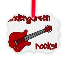 kindergartenrocks_red Ornament