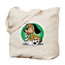 Organ-Donor-Dog-blk Tote Bag