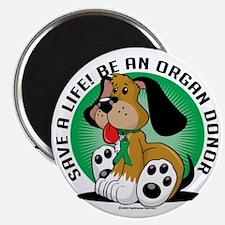 Organ-Donor-Dog Magnet