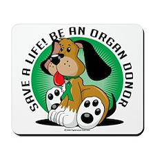 Organ-Donor-Dog Mousepad