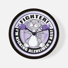 Alzheimers-Cat-Fighter Wall Clock