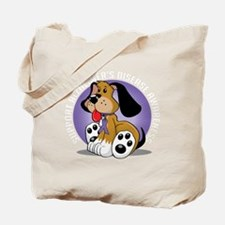 Alzheimers-Dog-blk Tote Bag