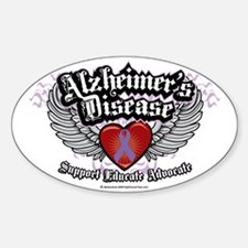 Alzheimers-Wings Decal