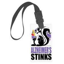 Alzheimers-Stinks Luggage Tag