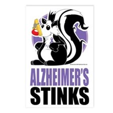 Alzheimers-Stinks Postcards (Package of 8)