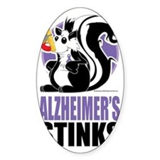Alzheimers-Stinks Decal