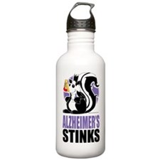 Alzheimers-Stinks Sports Water Bottle