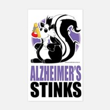 Alzheimers-Stinks Decal