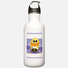 Knock-Out-Alzheimers-b Sports Water Bottle