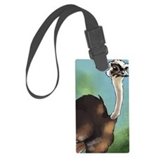 2-ostrich_journal Luggage Tag