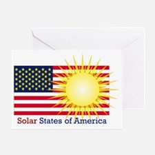 T40a Solar States of America Greeting Card