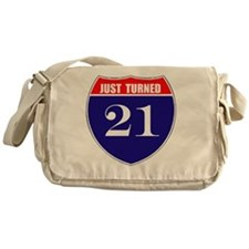 is21birth Messenger Bag