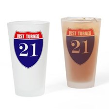 is21birth Drinking Glass