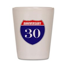 is30ann Shot Glass