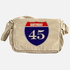 is45birth Messenger Bag