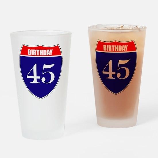 is45birth Drinking Glass