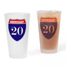 is20ann Drinking Glass