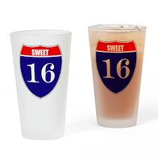 is16birth Drinking Glass