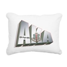 AKA lg Rectangular Canvas Pillow