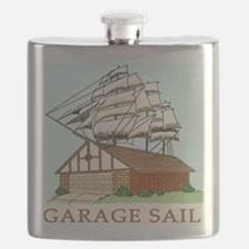 GARAGE SAIL T shirt Flask
