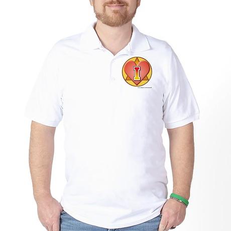 I-love-aa-2web Golf Shirt