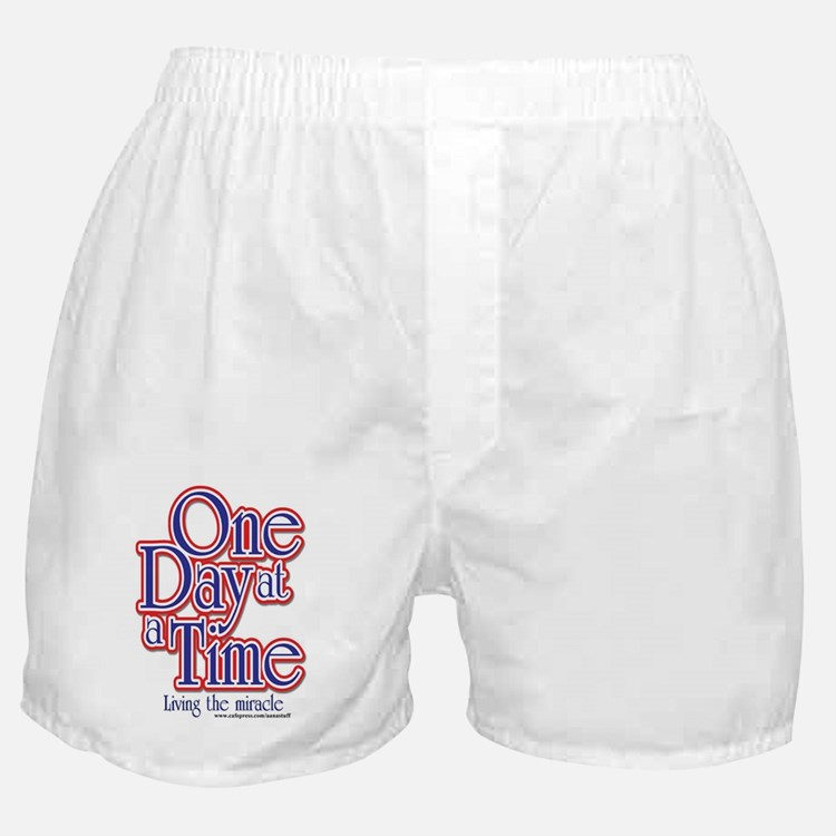 one-day-at-a-time7jpegweb Boxer Shorts