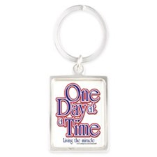 one-day-at-a-time7jpegweb Portrait Keychain