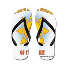 2-star-in-sunlight-web Flip Flops