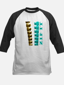 Just Zip It Kids Baseball Jersey