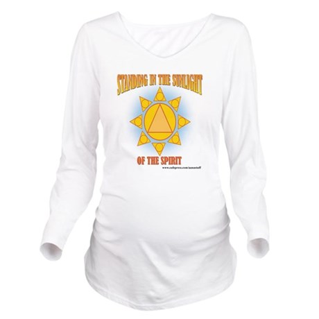 2-star-in-sunlight-w Long Sleeve Maternity T-Shirt
