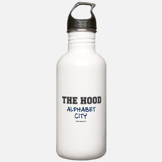 THE HOOD - ALPHABET CI Water Bottle