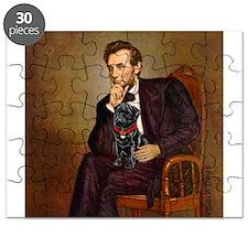 Lincoln-Black Pug Puzzle