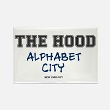 THE HOOD - ALPHABET CITY - NEW YORK CITY Magnets