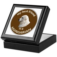BEST FRIEND KUVASZ Keepsake Box