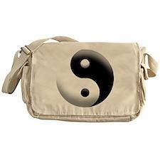 yinyang copy Messenger Bag
