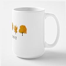 Autumn Trees Vermont Large Mug
