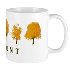 Autumn Trees Vermont Mug