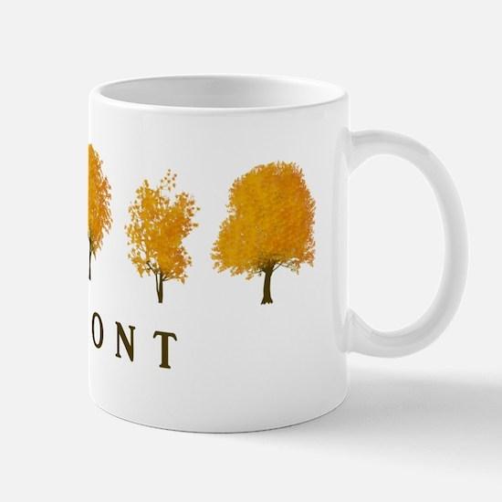 Autumn Trees Vermont Mug