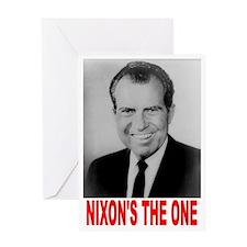 ART Nixons the one Greeting Card