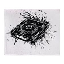 Pioneer CDJ 1000 Graffiti Throw Blanket