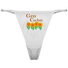 Orange Geocacher Classic Thong