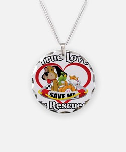 Rescued-Love-2009-blk Necklace